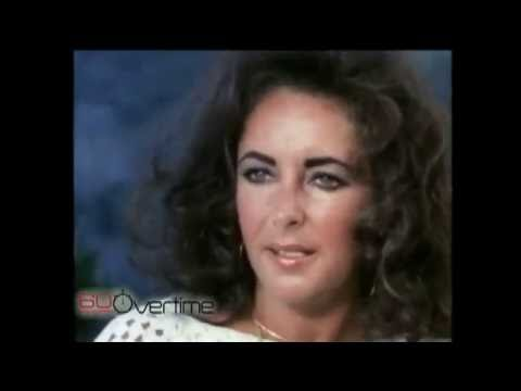 ELIZABETH TAYLOR & RICHARD BURTON 60 MINUTES INTERVIEW – introduced by Mike Wallace.