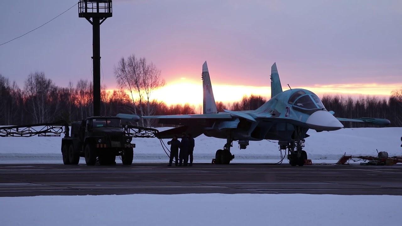 Минобороны РФ испытало СУ-34 в суровых условиях