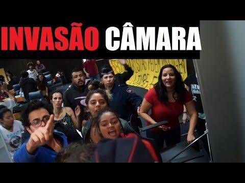 Invasão Câmara Municipal - Desmascarando Vereadores - São Paulo