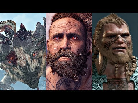 GOD OF WAR 4 - All Bosses / Boss Fights + Ending