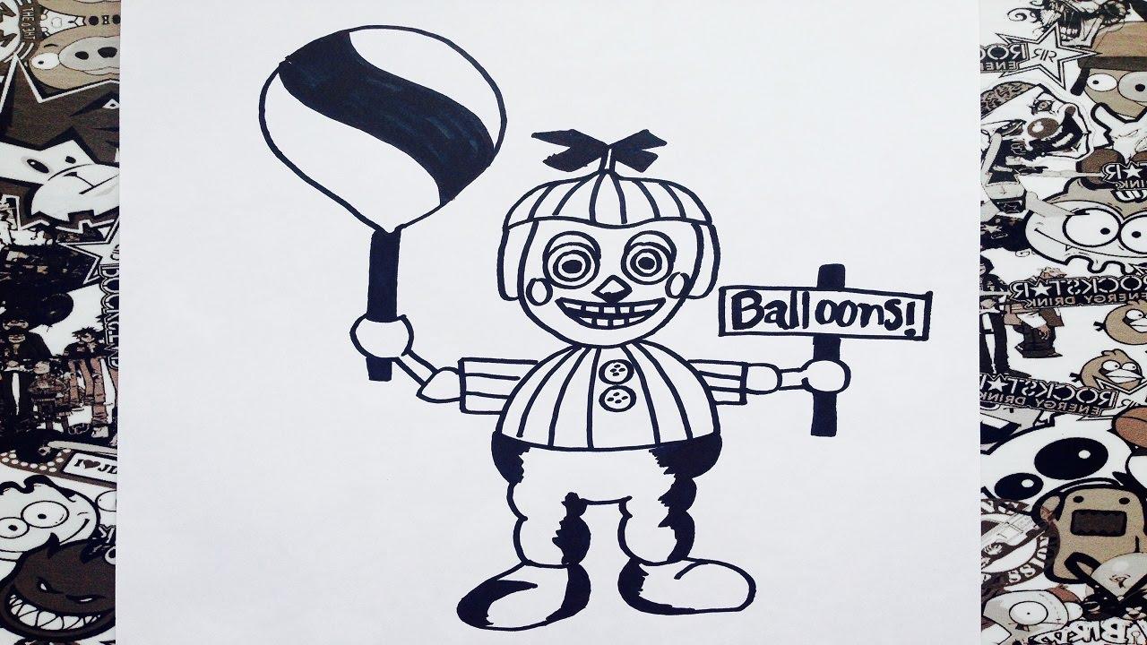 23 Phantom Balloon Boy Colouring Pages