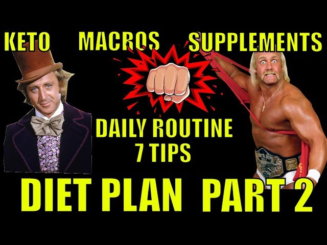 Diet Plan Part 2: Keto, Macros, Supplements, My Daily Diet Routine, Seven Diet Tips (Episode #13)