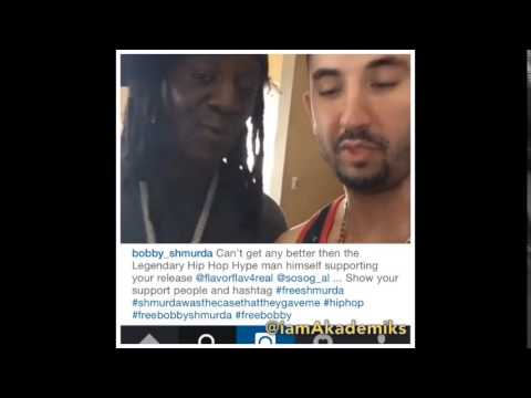 Flava Flav says He Will be Bailing out Bobby Shmurda!