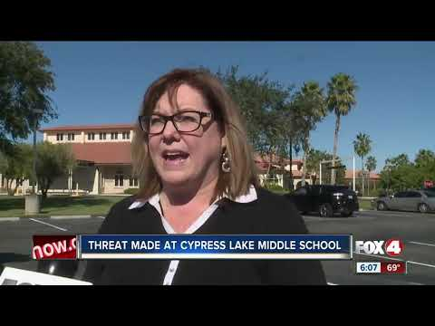 Threat made at Cypress Lake Middle School