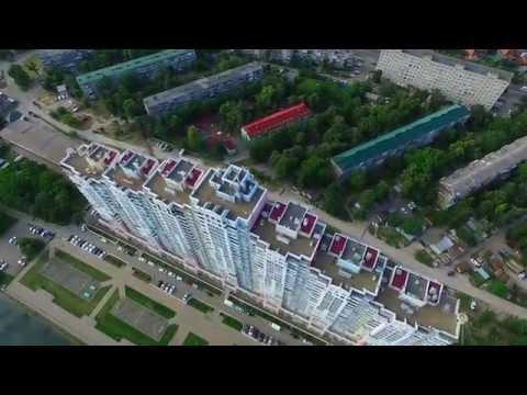 Поселок Ахтырский вид сверху  и Краснодар Селезнева