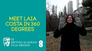 EE BAFTAs 2017: Meet Laia Costa in 360