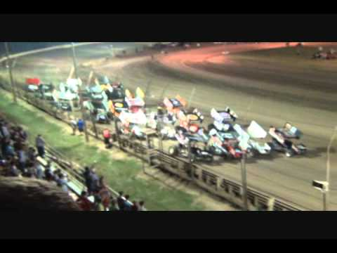 World of Outlaws Belleville Banks Kerry Madson Wins Video