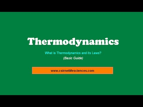What is Thermodynamics ? Explain the Thermodynamic Laws?  (Basic Guide)