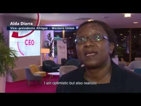 AFRICA CEO FORUM 2016 - Interview Aïda Diarra
