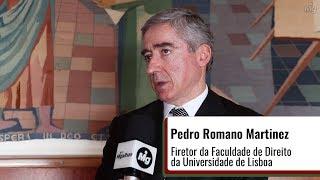 Pedro Romano Martinez - Cursos de Direito e acesso à Advocacia