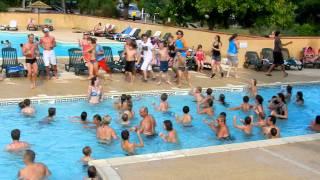 flashmob camping le perpetuum Domme Sarlat
