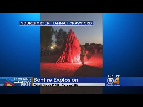 Homecoming Bonfire Goes Drastically Wrong In Fort Collins