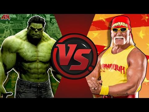 HULK vs HULK HOGAN! (Marvel vs WWE @HulkHogan) Cartoon Fight Club Episode 161