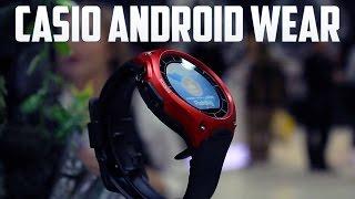 Casio con Android Wear, primeras impresiones CES 2016