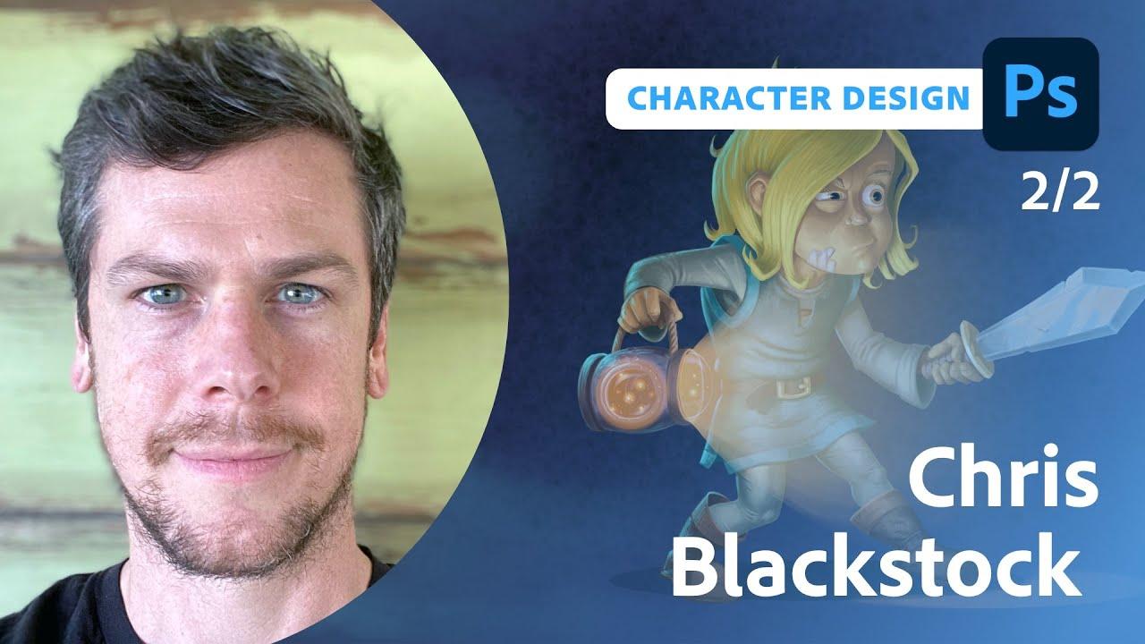 Alien Wildlife Biologist Character Design with Chris Blackstock - 2 of 2