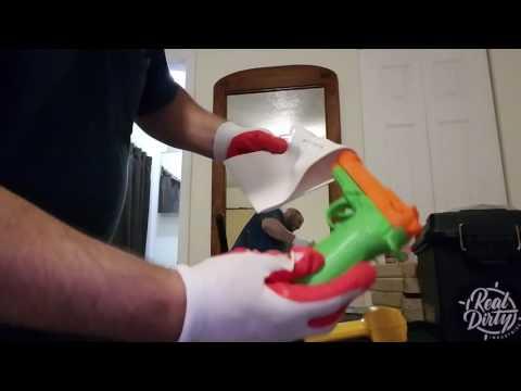 How to mold a PVC gun holster