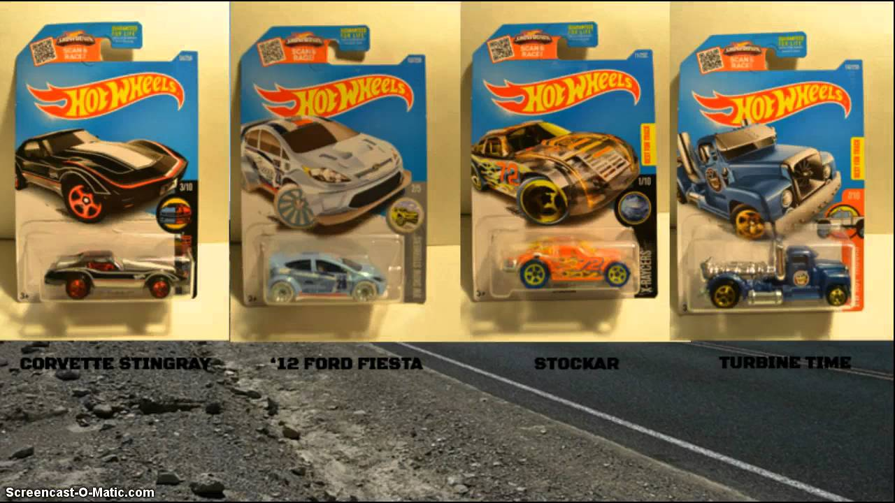 Hot wheels 2016 h case lineup for 9 salon hot wheels 2016
