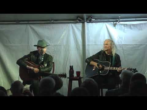 """Marie, Marie"" by Dave Alvin with Jimmie Dale Gilmore at North Shore Point"