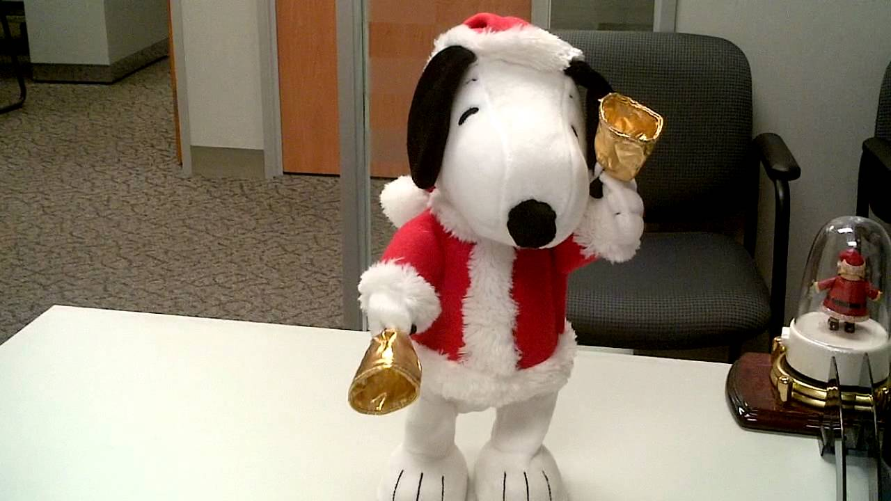 Bell Ringing Snoopy