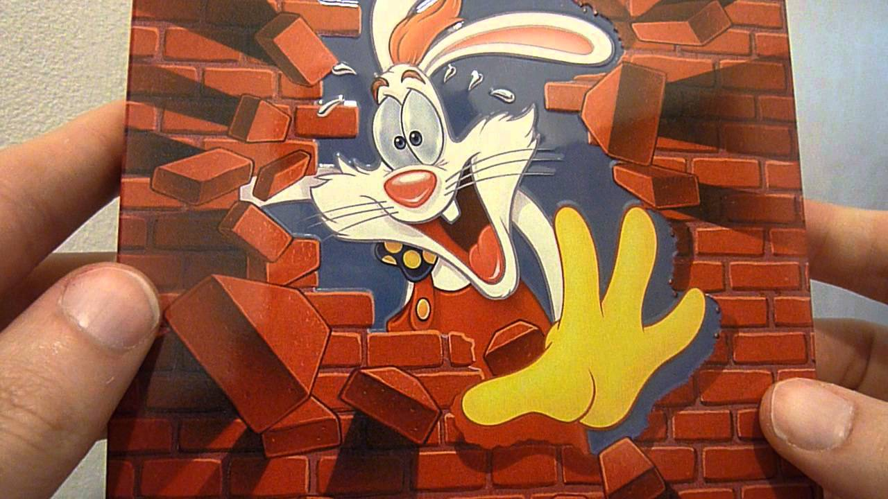 Who Framed Roger Rabbit 25th Anniversary Blu Ray Steelbook Zavvi ...