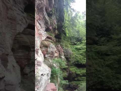 Rock House Caves in Hocking Hills in Logan, Ohio