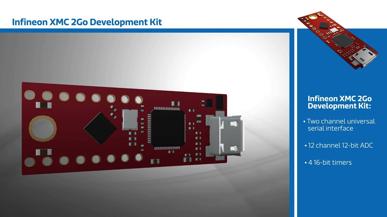 New This Week at Mouser Electronics – Infineon XMC 2 Go Development Kit