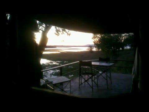 Sunrise Lake Kariba, Zimbabwe at Kiplings Lodge
