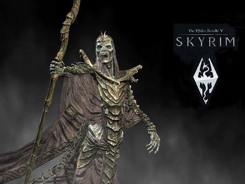The Elder Scrolls V: Skyrim. Чертеж двемерского взрывного болта льда. Прохождение от SAFa