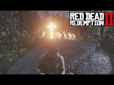 Red Dead Redemption 2 KKK Failed Cross Burning - Feeding Them To Alligators (RDR 2)