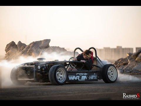 Ariel Atom V8 >> V8 War Machine Exomotive Exocet for sale - YouTube