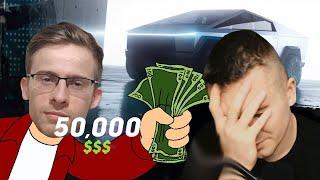 САМЫЕ БЕЗУМНЫЕ ТРАТЫ БЛОГЕРОВ! 3.200.000 ЗА TESLA CYBERTRUCK?! РЕАКЦИЯ АУРУМА! @DaiFiveTop