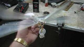 homemade ornithopter test 1