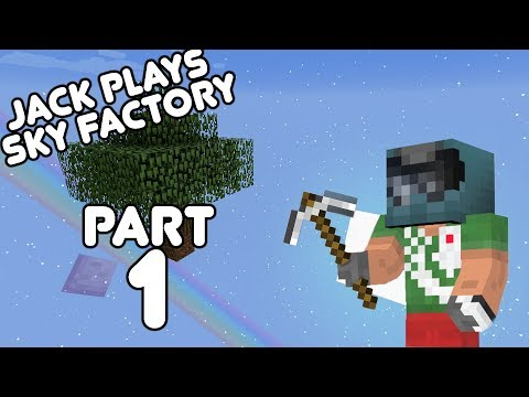 Sky Factory!! Jack plays Minecraft Sky Factory Part 1! (July 18th, 2017)