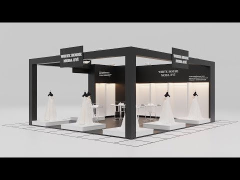 How To Make Exhibition Stand Design 3dsmax Corona Render Youtube