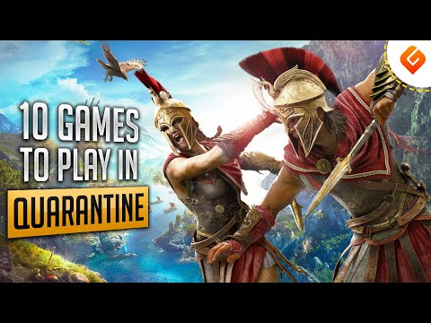 Game Suggest: 10 Games To Play In Quarantine