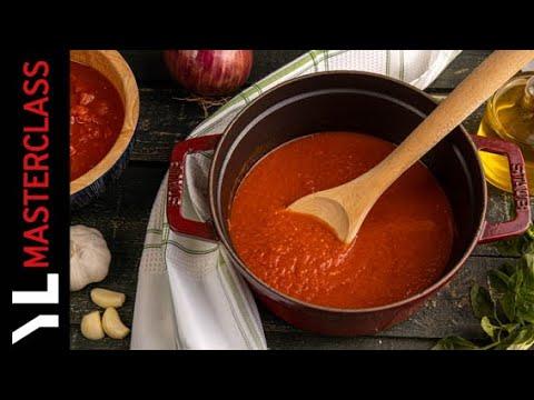 Πως να Φτιάξουμε Σάλτσα Ντομάτας   Yiannis Lucacos