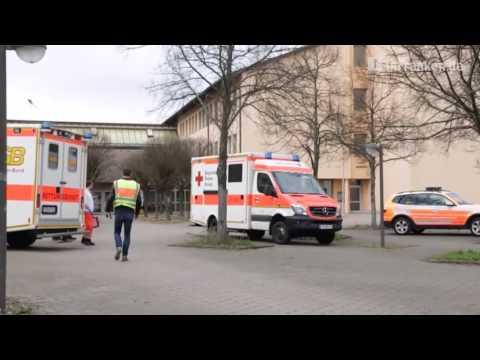 Großeinsatz bei Berufsschule Forchheim