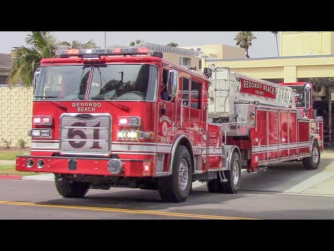 Redondo Beach Fire Dept. Truck & Rescue 61