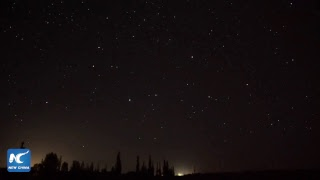 LIVE: Perseid meteor shower paints night sky