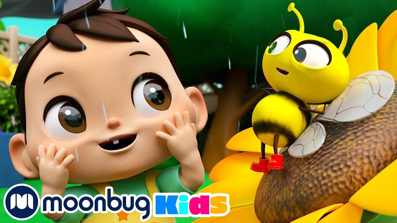 Mr Golden Sun Song - We Love Flowers Song & More Little Baby Bum Songs For Kids | Moonbug Kids