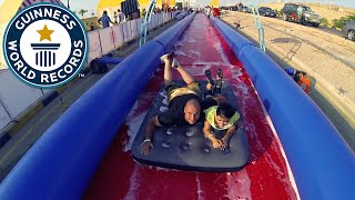 Longest Slip and Slide, Jordan - Guinness World Records