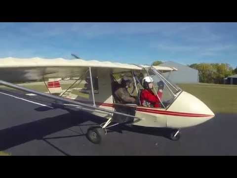 Flying with Jonathan in Kansas City, 10 Oct 2015