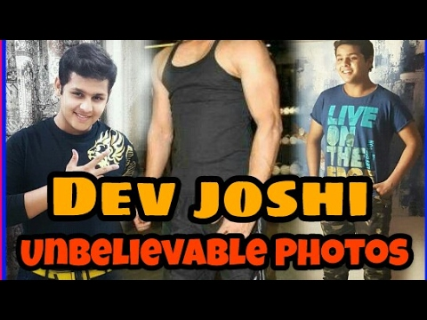 Dev joshi as Baal veer Real life Unbelievable Photos.......