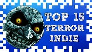 Top 15 juegos de terror indie (Videojuego independiente) │SextaGaming