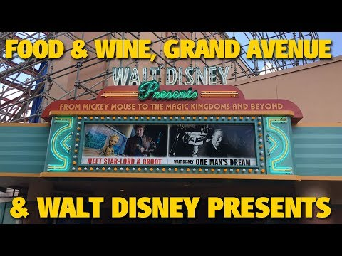 Walt Disney Presents Grand Avenue, Rose Gold Ears, and Food & Wine | Walt Disney World