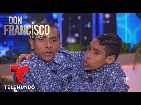Los siameses Jos Armando y Jos Luis Ceballos hablan de su vida | Don Francisco Te Invita | Entrete