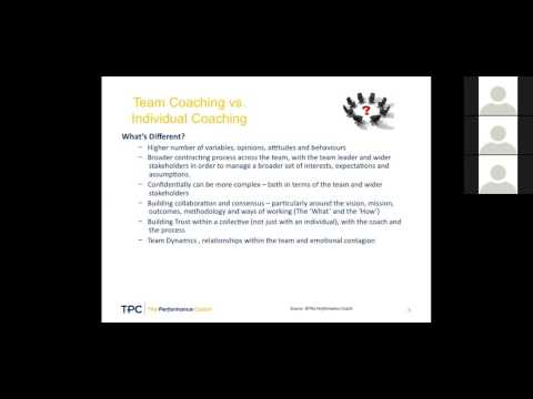 Team Coaching Webinar