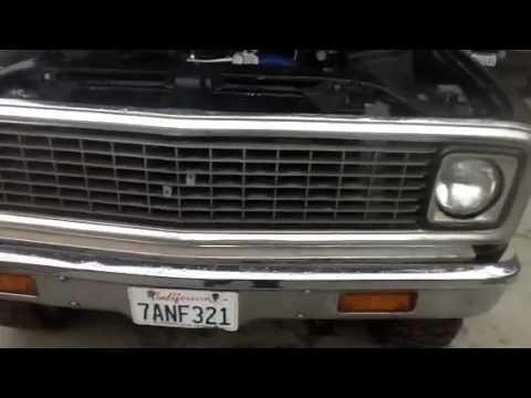 1972 Chevy Crew Cab Truck Turbo Diesel Duramax Youtube