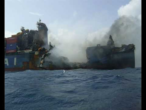 Container Ship Disaster