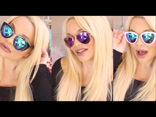 Sunglasses Try-On Haul ft Diff Eyewear